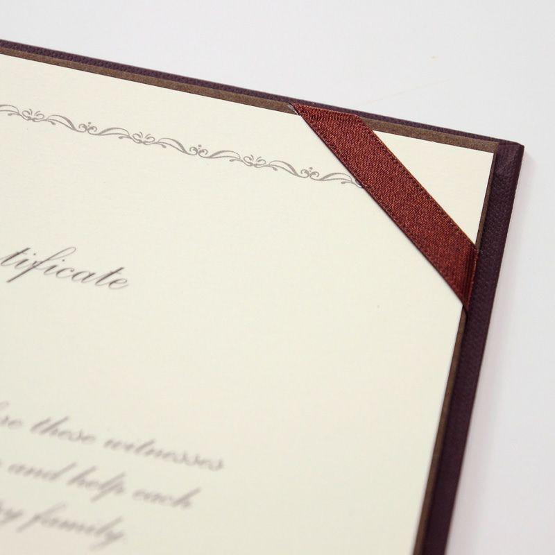 結婚証明書クラウン