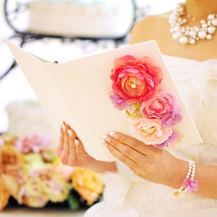 感謝の手紙を読む感動のシーンを引き立てる花嫁の手紙