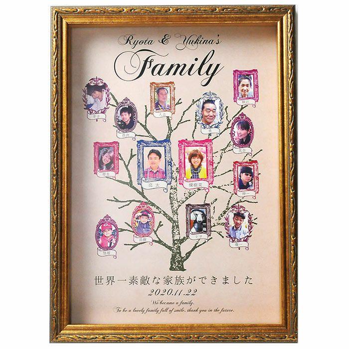 写真&お名前入り家族ボード(写真最大14枚まで)
