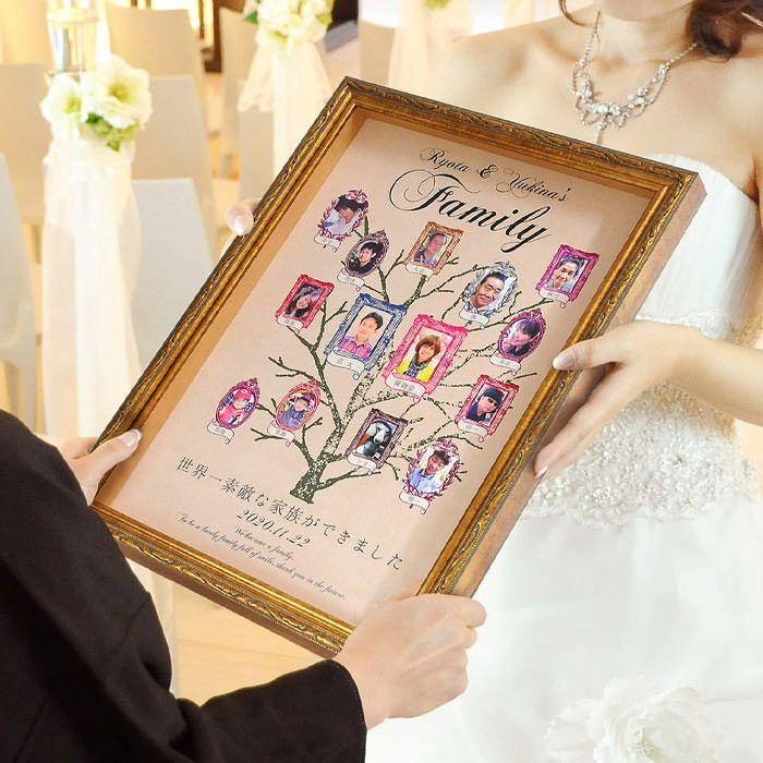 もらった瞬間、感動する結婚式での贈呈シーン