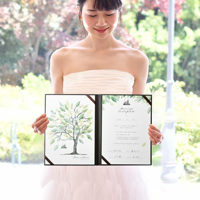 人前式のおしゃれな演出にぴったりなゲスト参加型結婚証明書
