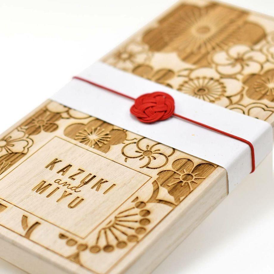 結婚祝いのプレゼントにぴったりな水引つき夫婦箸ギフトセット