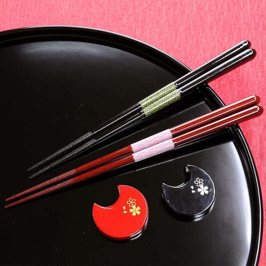 結婚祝いにふさわしい高品質な国産箸、福井の老舗メーカーの夫婦箸のプレゼント